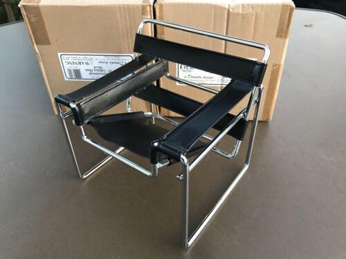 "Horsman Urban Environment 16"" Black Tubular Chair for Doll house 28510"