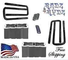 "1988-2016 Chevy Silverado GMC Sierra C K 1500 3"" Lift Blocks Leveling Lift Kit"