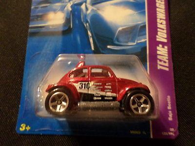 HW HOT WHEELS 2008 VOLKSWAGEN SERIES #3//4 VW BAJA BEETLE HOTWHEELS RED BUG