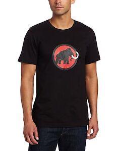 f1b0215342bd7e Mammut Uomo Outdoor Palestra Passeggio Arrampicata 95% Cotone Logo T ...