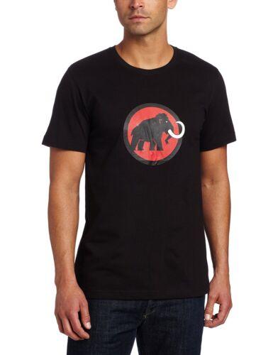 Mammut Mens Outdoor Gym Walking Climbing 95/% Cotton Logo T-shirt 1041-07290