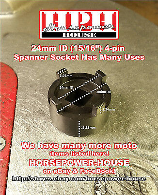 Honda NX125 Clutch Nut /& Oil Pump Nut Socket