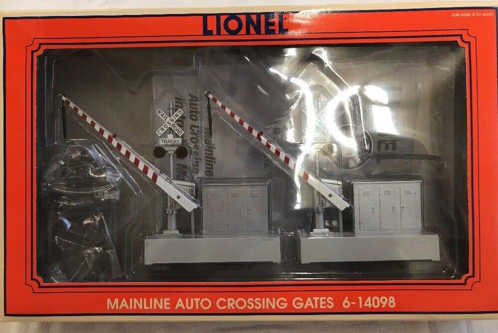 LIONEL 6-14098 MAINLINE AUTO CROSSING GATES NIB O SCALE Never used