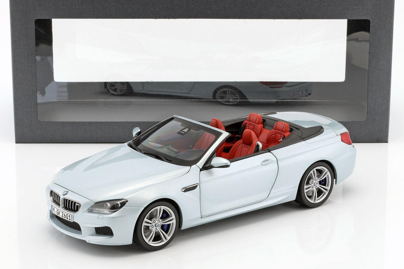 BMW M6 Converdeible platastone II Plata 1 18 Paragon Models