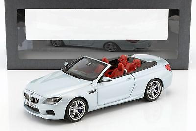 BMW M6 Cabrio 2012 silber  Paragon//BMW 80432253656 1:18 neu /& OVP