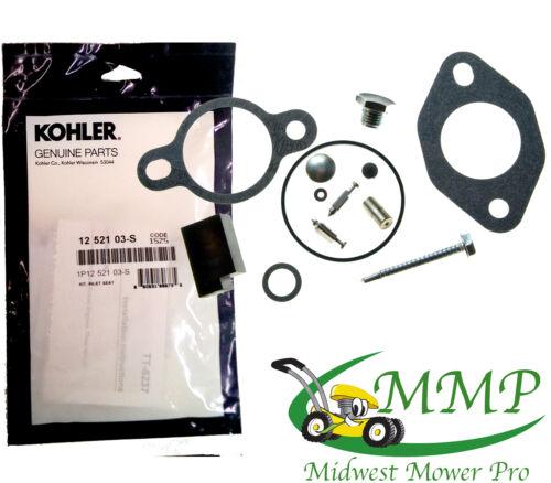 12-521-03S OEM Kohler Inlet Seat Repair Kit CH11 CV13 CV15  12 521 03-S