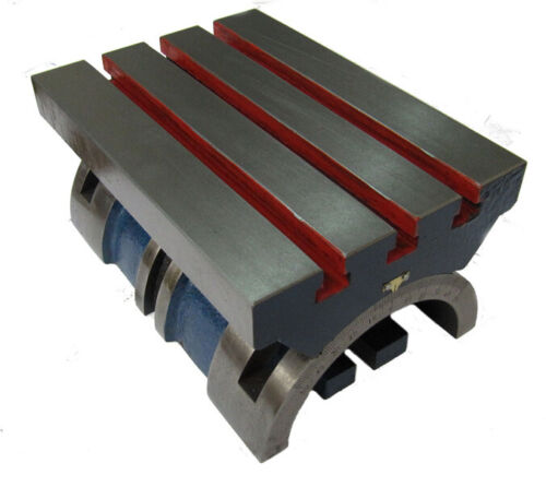 """RDGTOOLS ADJUSTABLE ANGLE PLATE 10/"""" X 7/"""" 0-45 DEGREES EITHER SIDE MILLING"""