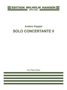 Anders Koppel: Solo Concertante Ii Piano Solo Post - 1900 Piano Sheet Music Book-afficher Le Titre D'origine X591uqbn-07160847-445108932
