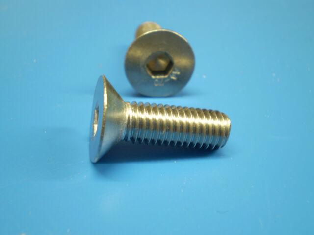 Innensechskantschrauben Senk DIN 7991 Edelstahl V2A M3 M4,M5,M6,M8,M10,M12,M16
