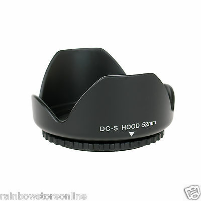 52mm Flower Lens Hood for Nikon D5200 D5100 D3100 D3200 D3000 & 18-55mm 55-200mm