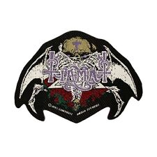 """Tiamat"" Gothic Rock Band Logo Black Metal Merchandise Sew On Applique Patch"