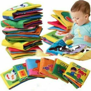 0-36-Months-Newborn-Baby-Early-Educational-Soft-Cloth-Crib-Book-Educational-Toy