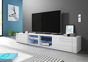 Tv Unit Best200 Tv Stand Tv Lowboard Cabinet Free Led Uk Plug