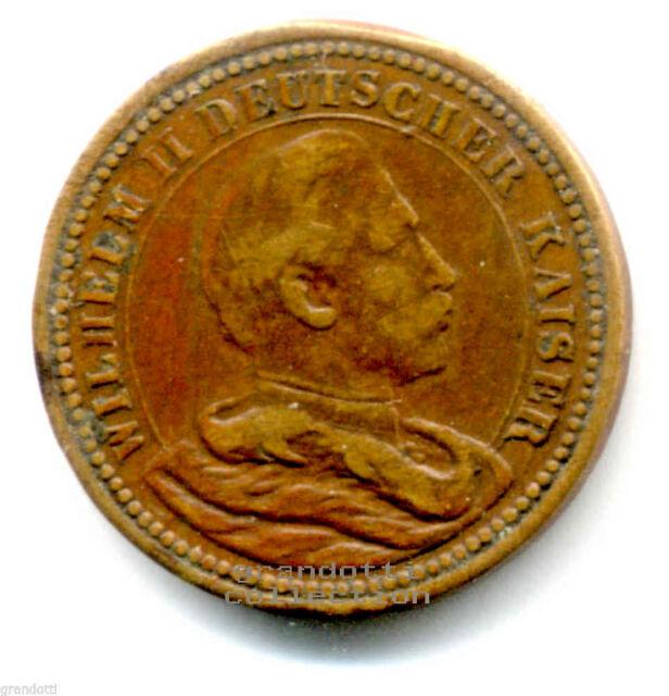 IMPERATORI FEDERICO III E GUGLIELMO II DI PRUSSIA MEDAGLIA GERMANIA