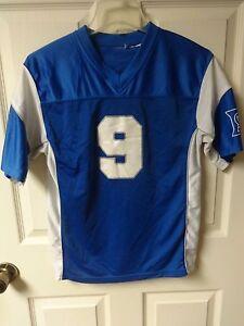 Image is loading Vintage-NCAA-Duke-Blue-Devils-9-Football-Jersey- a93dc47da