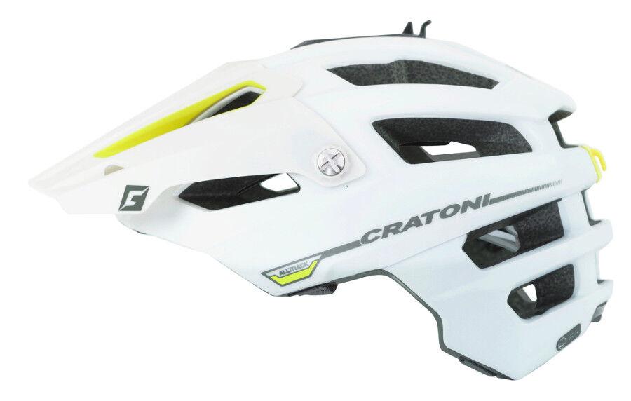 Cratoni Tutti Traccia Casco per Bicicletta Downhill Downhill Downhill da Mountainbike Cross Bike 7ab6f5
