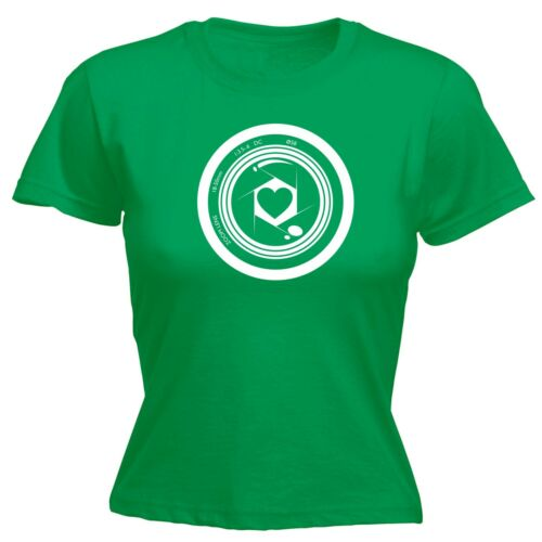 Camera Heart Photography Photographer FITTED T-SHIRT tee funny birthday gift