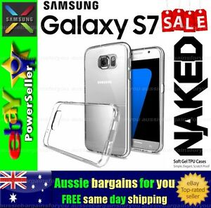 Samsung-Galaxy-S7-Clear-Soft-Gel-TPU-Flexible-Clear-Fitted-Case-Cover-Skin-Slim