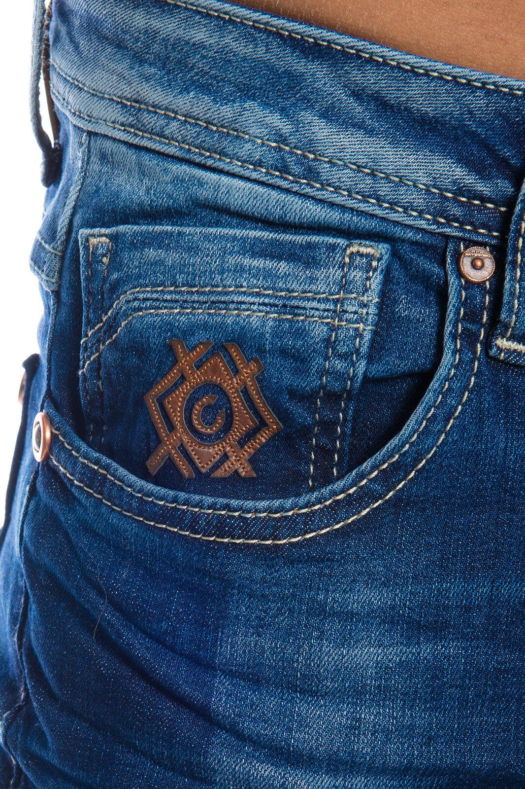 CIPO & Baxx Hommes 31 Premium Jeans Pantalon 389 Bleu w28 29 30 31 Hommes 32 33 34 36 38 40 3a5d55