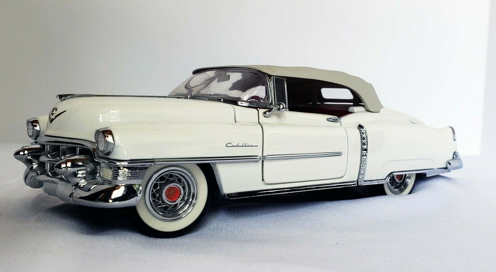 1953 Cadillac Eldorado ConGrünible Franklin Mint 1 24 Scale Die-Cast Model