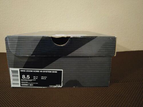 Nike Kobe 7 BHM Size 8.5
