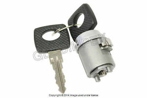 77-89 Ignition Locking Tumbler with 2 Keys Mercedes w123 w126