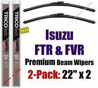 Wiper Blades 2-pack Premium - Fit 1997-2011 Isuzu Ftr Fvr - 19220x2