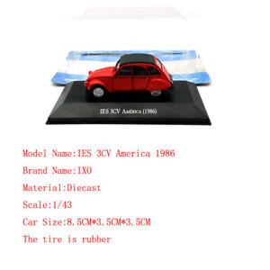 1-43-IXO-Citroen-IES-3CV-America-1986-Diecast-Juguetes-modelos-de-automoviles-Edicion-Limitada