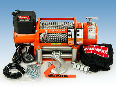 ELECTRIC WINCH 12V RECOVERY 4x4 17000 lb WINCHMAX BRAND