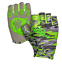 NEW FISH MONKEY FINGERLESS STUBBY GUIDE GLOVE SIZE XL IN VOODOO SWAMP GREEN