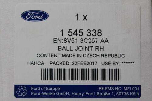 rechts Ford Fiesta B-Max 1545338 1545339 Original Spurstangenkopf links