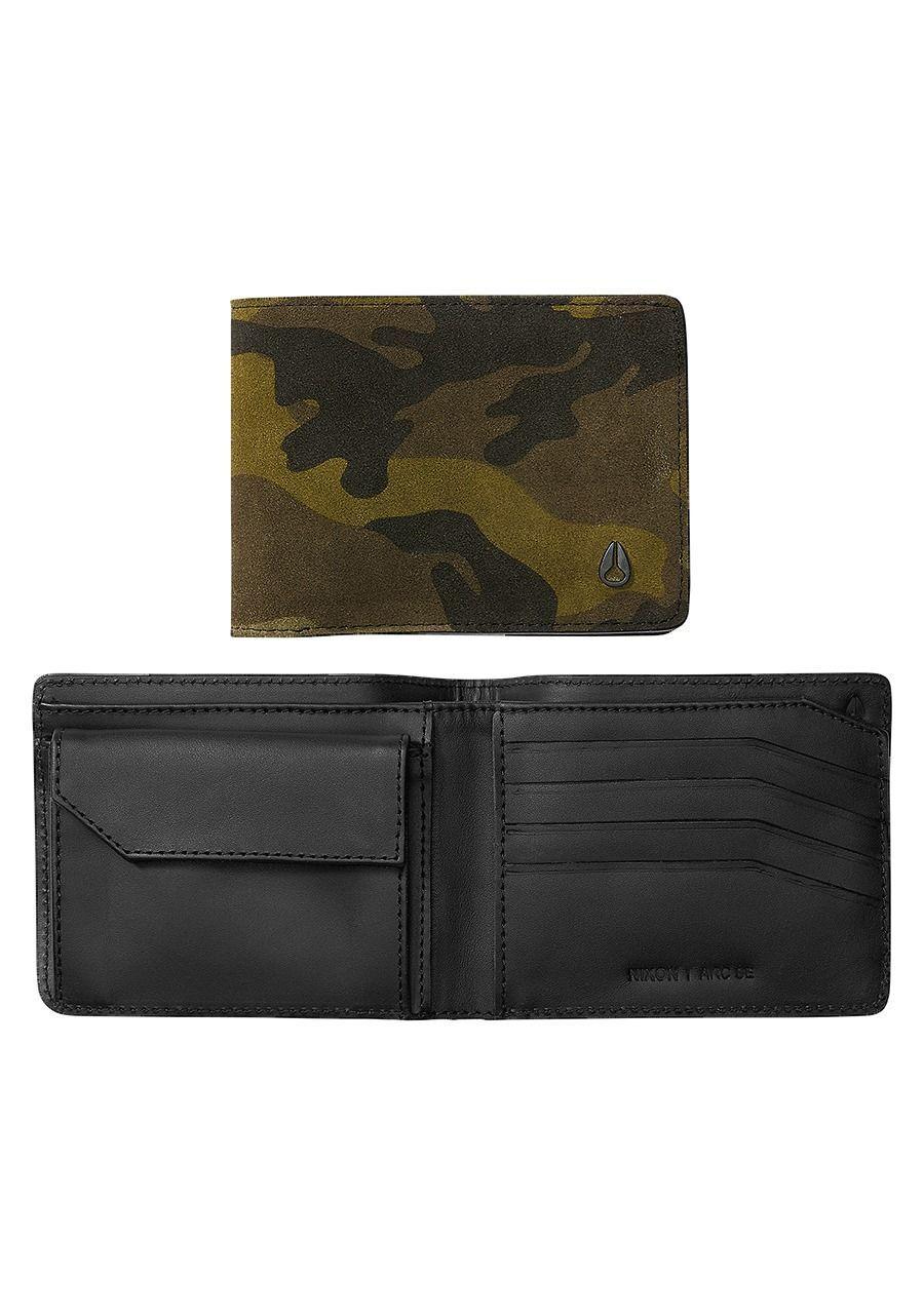 Nixon Arc SE Bi-Fold Wallet (Black / Camo / Volt)