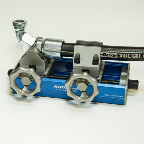 16 AN Push On AN hose Tool -4 AN thru KOUL Tool EZ-On AN Push-Lok Hose Press