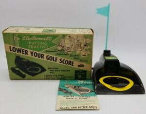 Vintage-Electromatic-Brandell-Putting-Practice-19th-hole-Model-1901-w-box