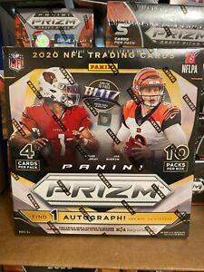 2020 Panini Prizm NFL New Sealed 10 Pack Mega Box