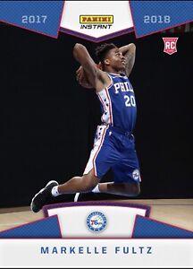 2017-18-PANINI-INSTANT-NBA-RPS-FIRST-LOOK-15-MARKELLE-FULTZ-PHILADELPHIA-76ers