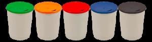 250 nachhaltige Coffee to go Becher Kaffee-Mehrwegbecher Barista 365 mit Deckel