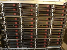 HP D2600 12 x 3TB SAS   Storage array AJ940A 2 x Cntrls, 2 x PSU, Rails