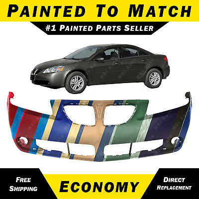 NEW Painted To Match Front Bumper Cover Fascia for 2005 2006 Toyota Camry 05 06