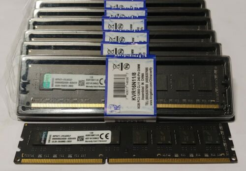 KVR16N11//8 KINGSTON 8GB DDR3 1600MHz Memory PC3-12800U Multi SPEED RAM in USA!!!