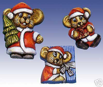 Giessform nuevo /& OVP 2002024 divertidas navideña ratones