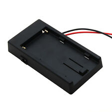 Battery Adapter Mount Plate for NP-F970 F750 F550 Sony DSLR Rig Power C002