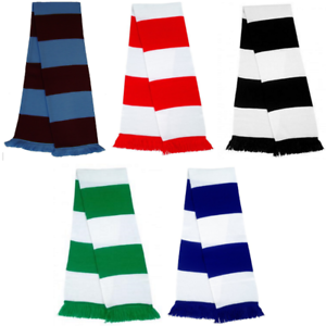 Details about Football Supporters Striped Bar Scarf *EFL Championship Teams*
