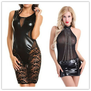 Women-Bodycon-Mesh-Slim-Mini-Pencil-Dress-Cocktail-Party-Evening-Clubwear-Short