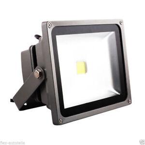 LED Outdoor Lighting Mount Spotlight House Hof Garden Floodlight Eco 20W=100W