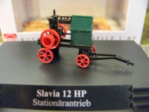 1//87 Busch Slavia 12 HP Stationärantrieb 59903