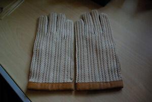 3705933191c702 Das Bild wird geladen Original-British-Leather-Gentlemen-Driver-Handschuhe- Leder-Oldtimer-