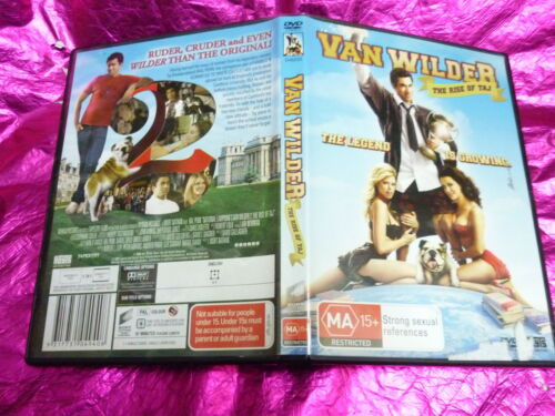 1 of 1 - VAN WILDER THE RISE OF TAJ : (DVD, MA15+)