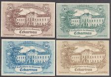 Eckartsau (OÖ) -Gemeinde- 20 H, 30 H, 50 H und 80 Heller (JP 149 a)