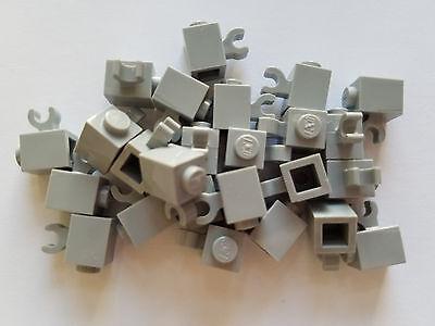 Qty:25 New Part 6541 Lego Medium Stone Grey Technic Brick 1x1 Element 4211535